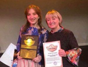 """""""გინცელი"""" გოგონას წარმატება ლას-ვეგასის მე-16 საერთაშორისო კონკურს-ფესტივალზე"""